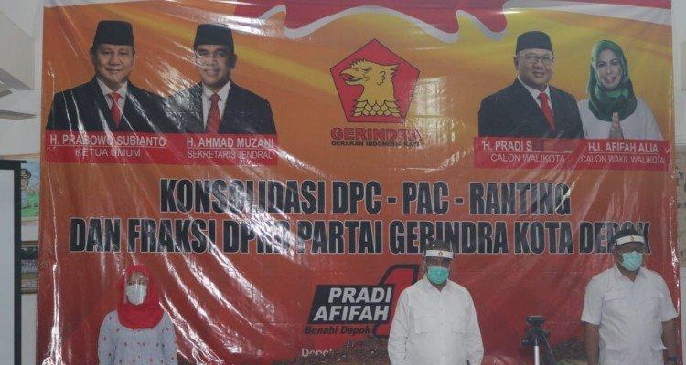 Rapat Konsolidasi Pemenangan Pradi-Afifah