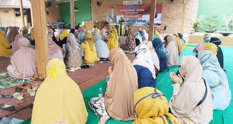 Restu dan Doa dari Ratusan Ustazah untuk Afifah Aliah