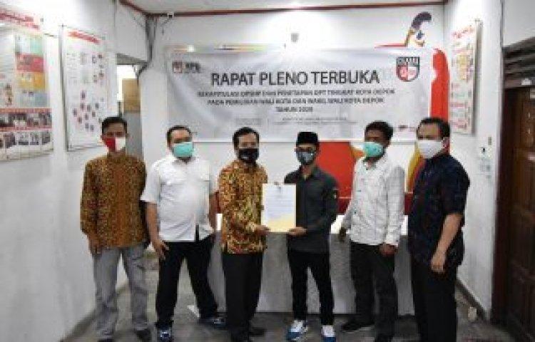 KPU Tetapkan DPT Pilkada Depok
