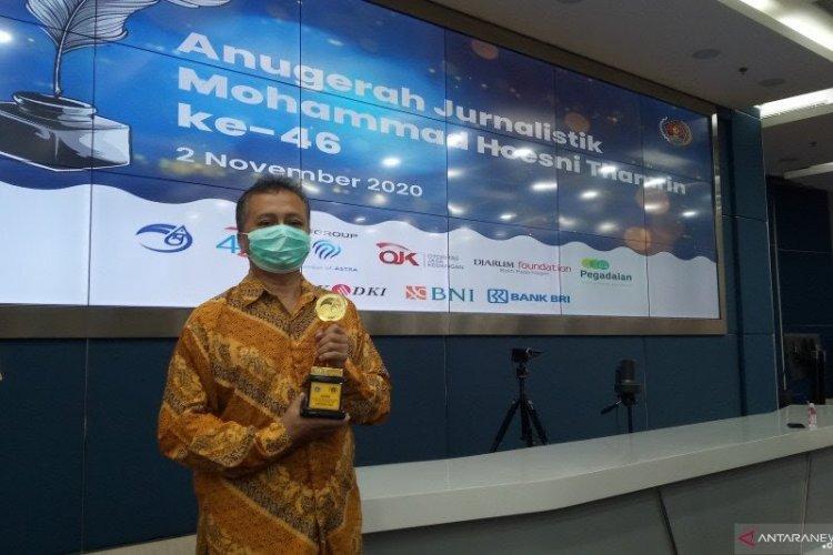 Pewarta ANTARA Raih Penghargaan Karya Jurnalistik 2020