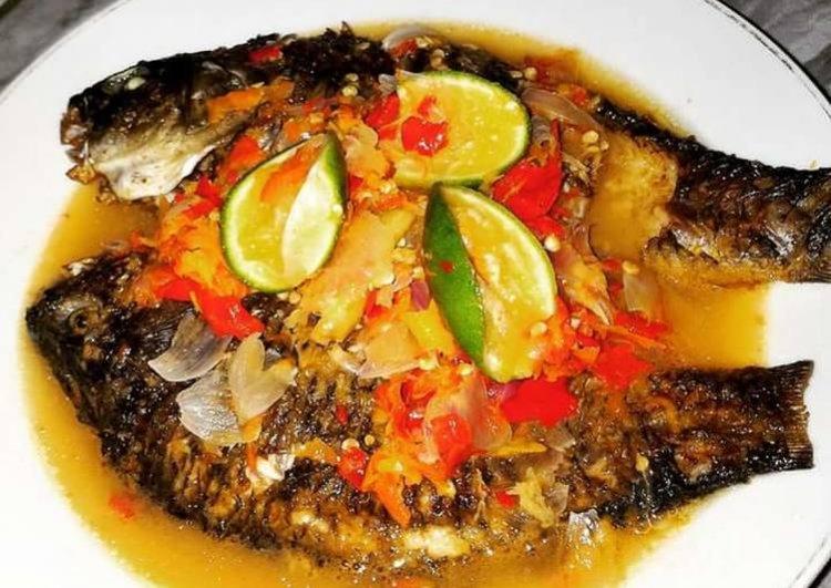 Yuk, Nyoba Masak Pecak Ikan Mas