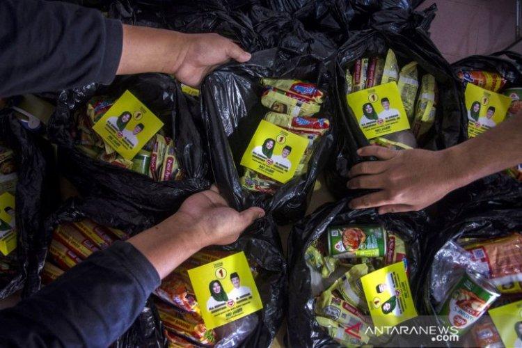 Pilkada Kabupaten Bandung Memanas, Panwaslu Amankan 150 Paket Sembako