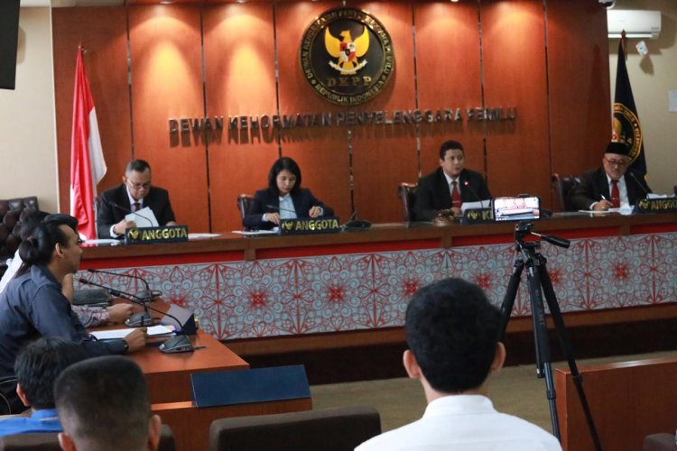DKPP Berhentikan Enam Penyelenggara Pemilu
