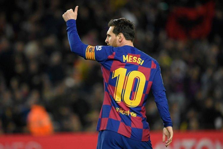 Gol Messi Warnai Kemenangan Barcelona Atas Betis