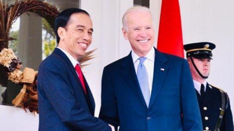 Jokowi Ucapkan Selamat ke Joe Biden