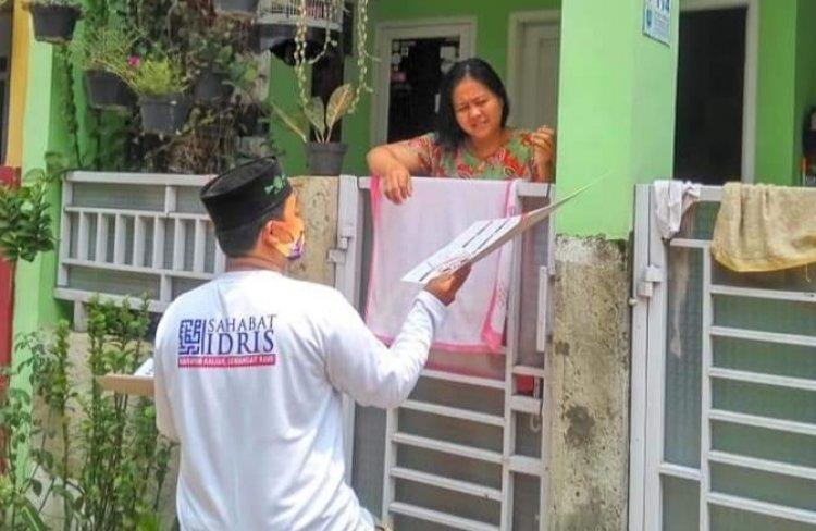 Banser Cari Relawan Idris Yang Pake Logo NU Saat Door To Door