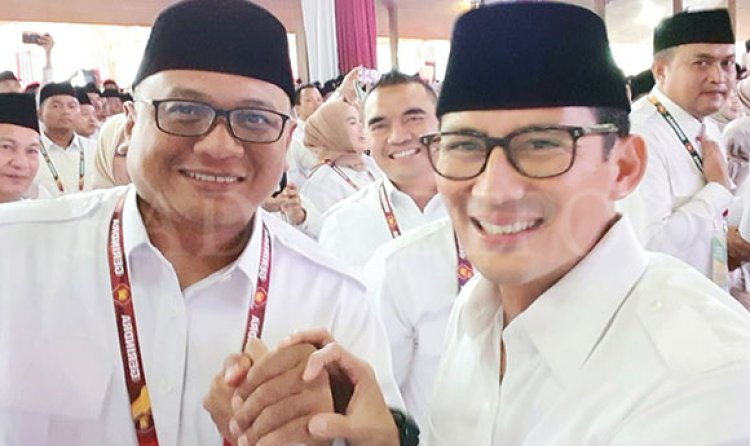 Sandiaga Uno Bakal ke Depok, Menangkan Pradi-Afifah