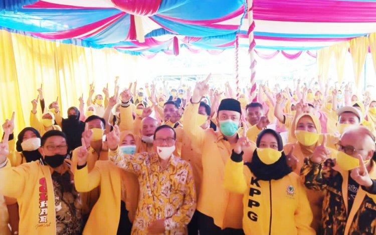 Akbar Tanjung 'Bakar' Semangat Kader Golkar Depok