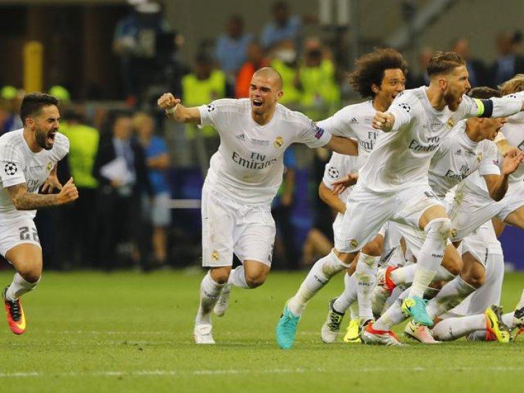 Libas Gladbach, Real Madrid Amankan Tiket 16 Besar