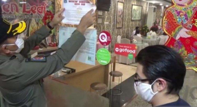 Satpol PP Segel Restoran Yang Gelar Pernikahan di Kelapa Gading