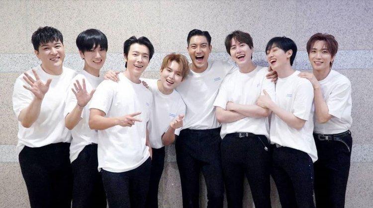 Super Junior dan BTS Borong Penghargaan di TMA 2020