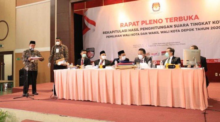 KPU Umumkan Idris-Imam Pemenang Pilkada Depok