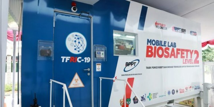 Pemeriksaan Covid-19 Bisa Melalui Mobile Lab