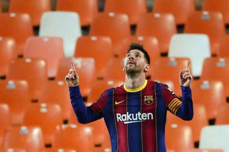 Digaet Barcelona Lagi, Messi Akan Tekan Kontrak Lima Tahun